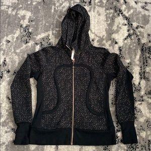 Lululemon black Scuba jacket - size 10